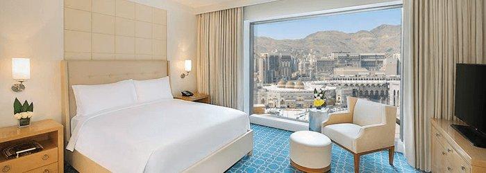 Séjour dans un hôtel 5 étoiles situé en Face du Haram