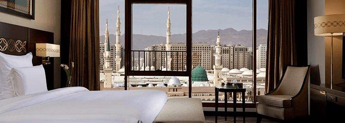 Séjour dans un hôtel 5 étoiles situé en Face du Masjid An'Nabawi